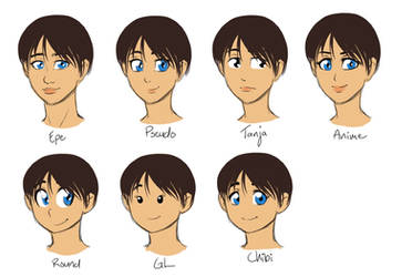 Practising Face Styles part 3