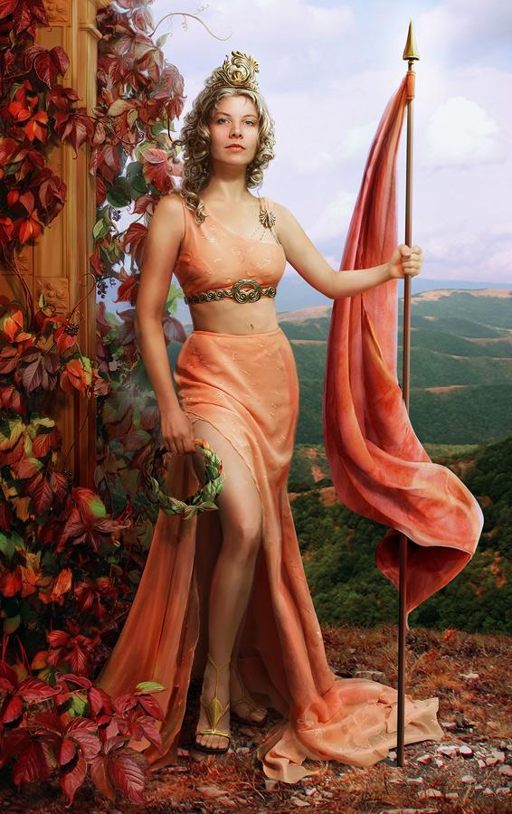 Nike - the goddess of victory by Gven-ka