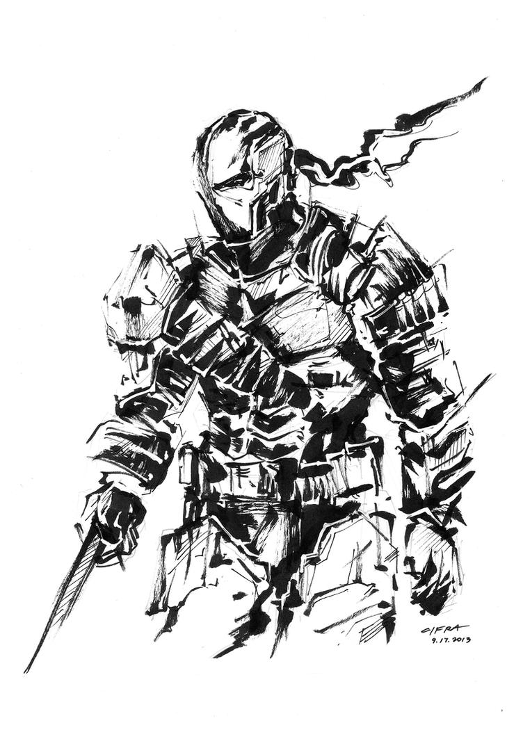 DeathStroke by cif3r on DeviantArt