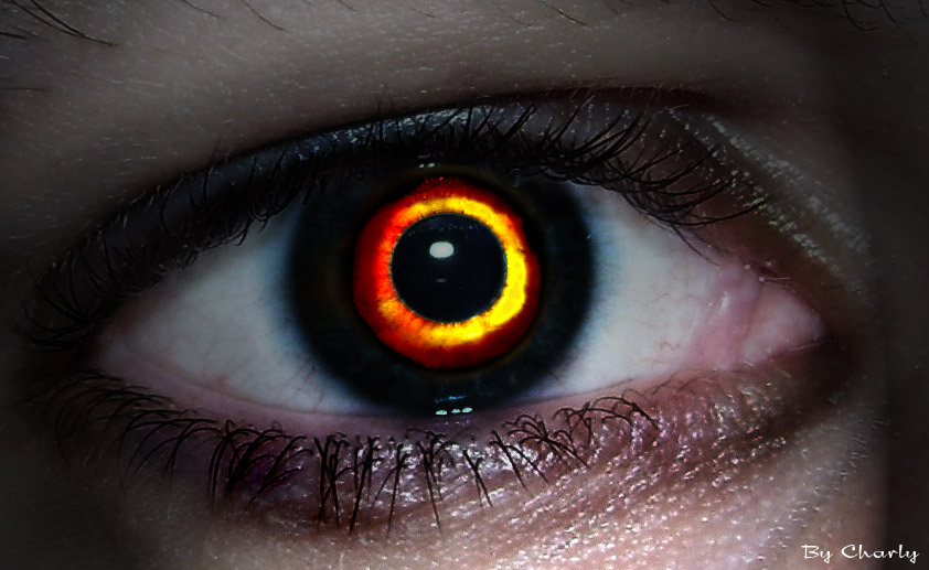 Imagen de ojos diabolicos - Imagui