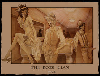 The Rossi Clan by faore