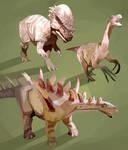 Dinotronics by AjamsDraws