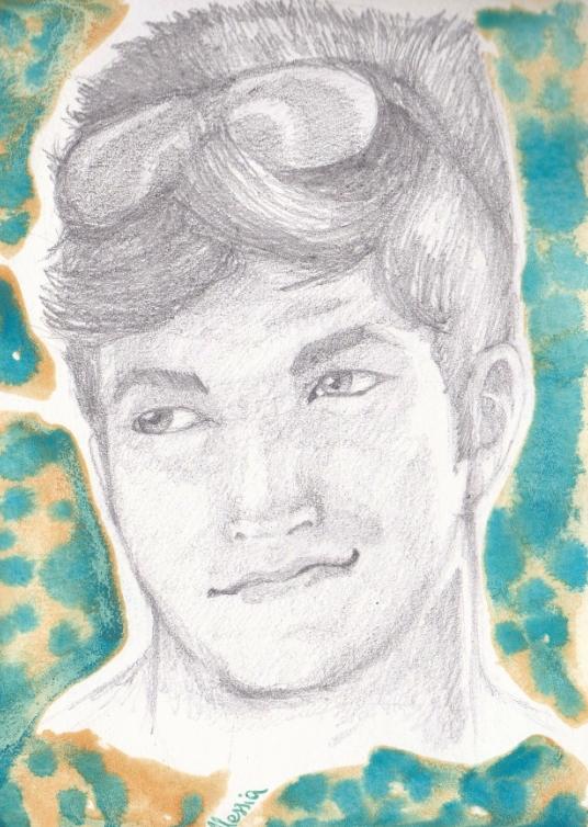 Portrait of a friend by Seadre