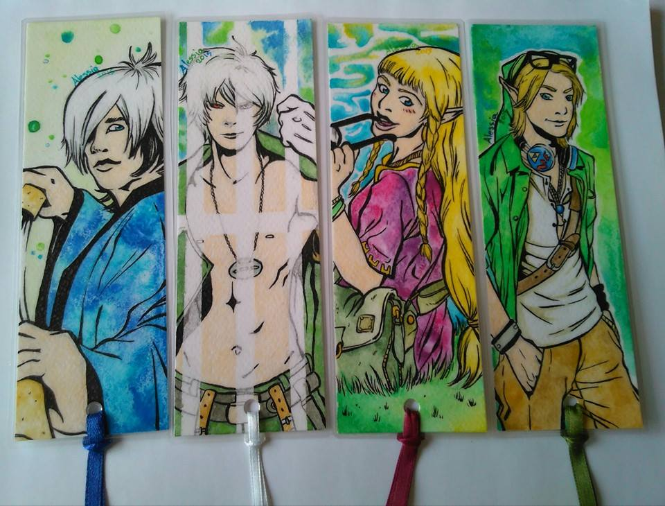 4 bookmarks by Seadre