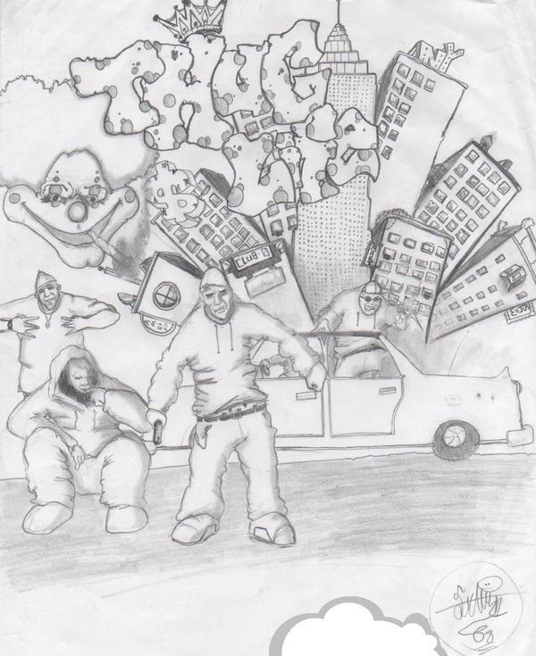 Thug Life Drawing Thug Life by Crakaj