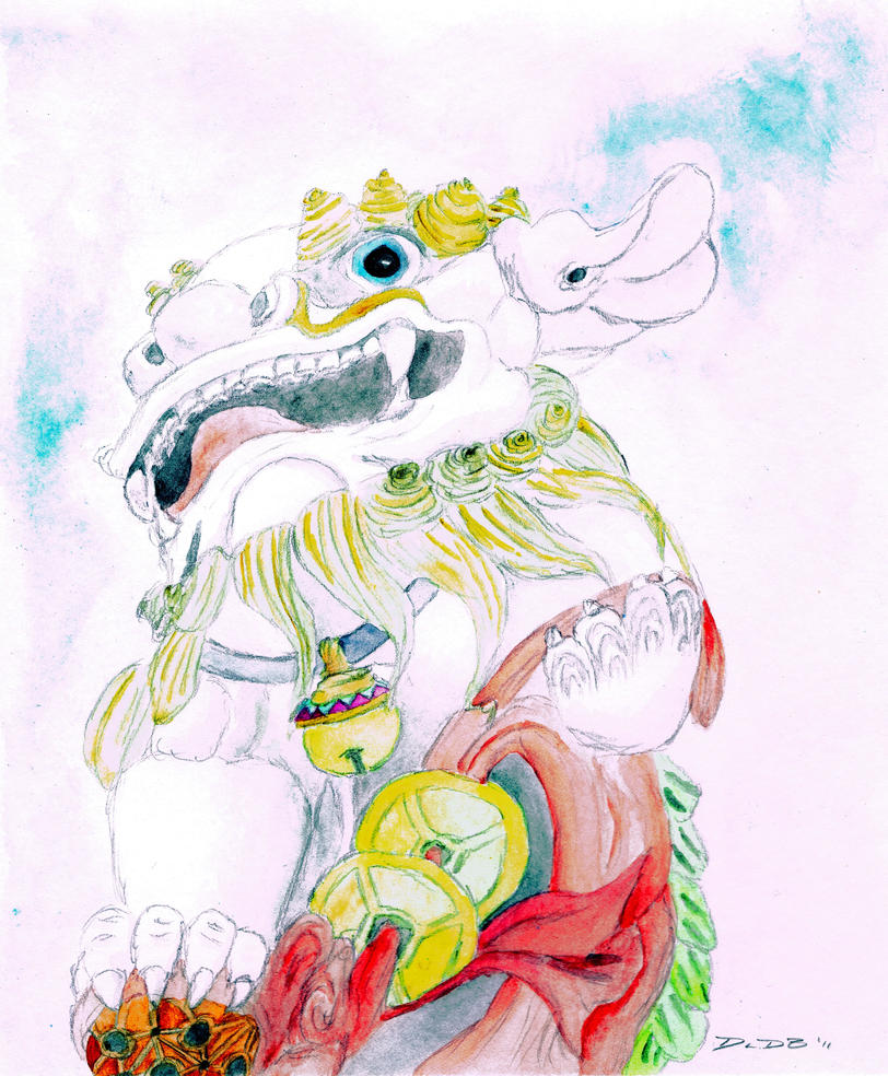 Guardian Lion by taibossigai