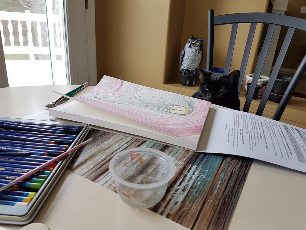 The Great Artist Pawses for a Break