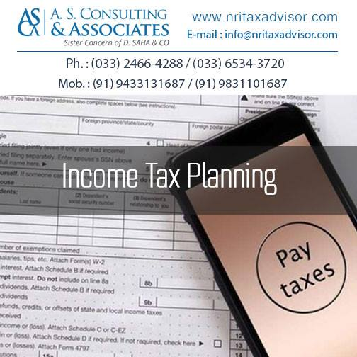 Income Tax Planning by nritaxadvisor2015