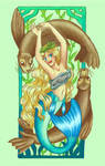 Mucha Mermaids: Spring