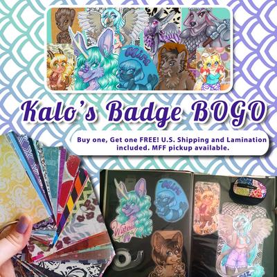 Kalo's Bage Buy one, get one FREE by Mermaid-Kalo