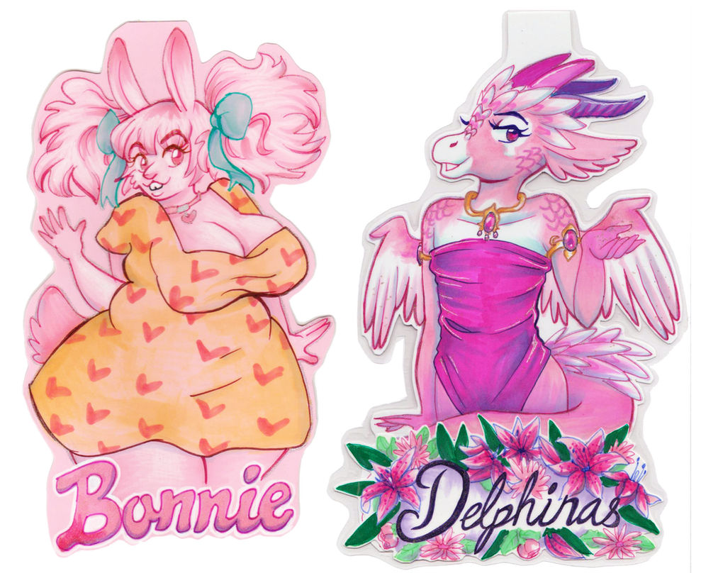 Bonnie and Delphi by Mermaid-Kalo