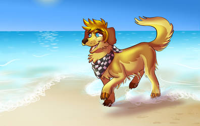 Sunny day for Paw Roxas by Mermaid-Kalo