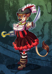 Pirate for Halloween by Mermaid-Kalo