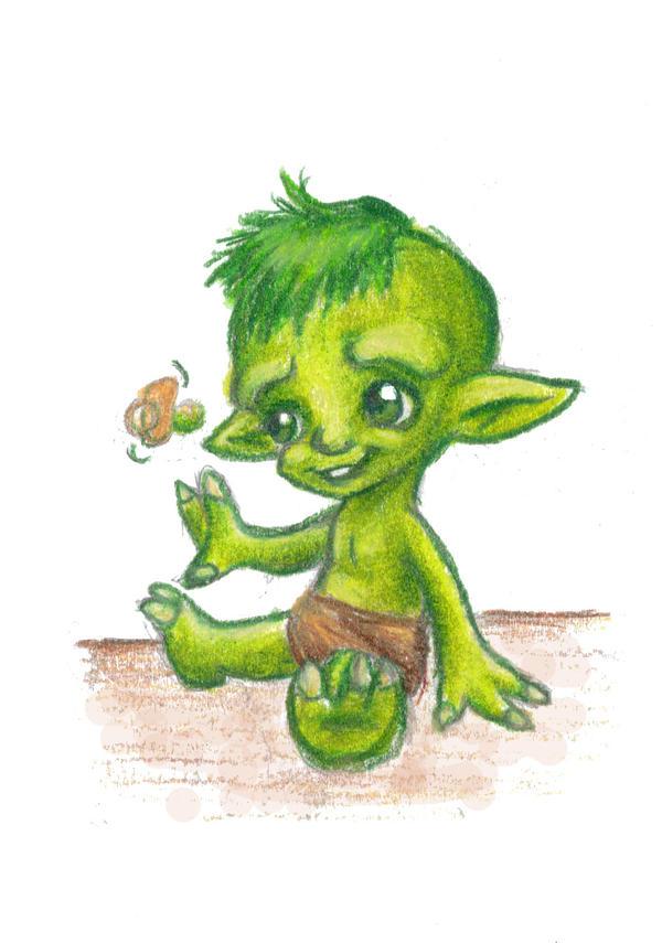 Baby Yoda by Mermaid-Kalo on DeviantArt