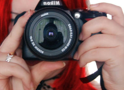 With my Nikon D40 by arthame