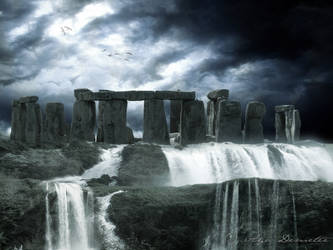 Floods - Stonehenge by arthame