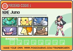 Pokemon Juno Kanto team by cardfightvanguard62