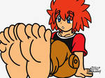 Ke Aki and his adorable feet