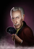 Vincent Price by face-in-the-sky