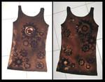 Steampunk cog shirt