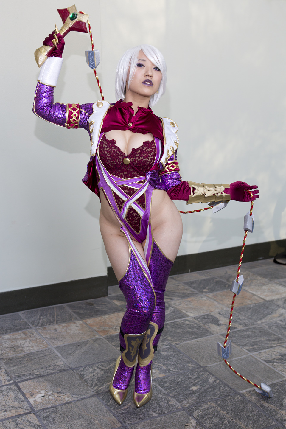 Ivy Valentine from Soulcalibur by MadcatDrannon