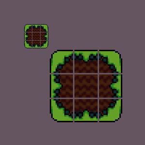 Grass Tiles - Tiles For Platformer by DankyDaGod