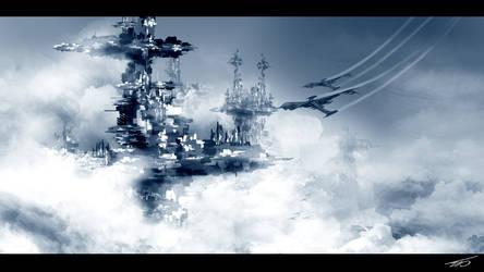 Sky Colony by HAUKKAworks