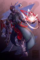 Destiny - Warlock by HAUKKAworks