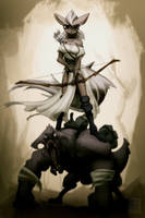 Beast Rider by HAUKKAworks
