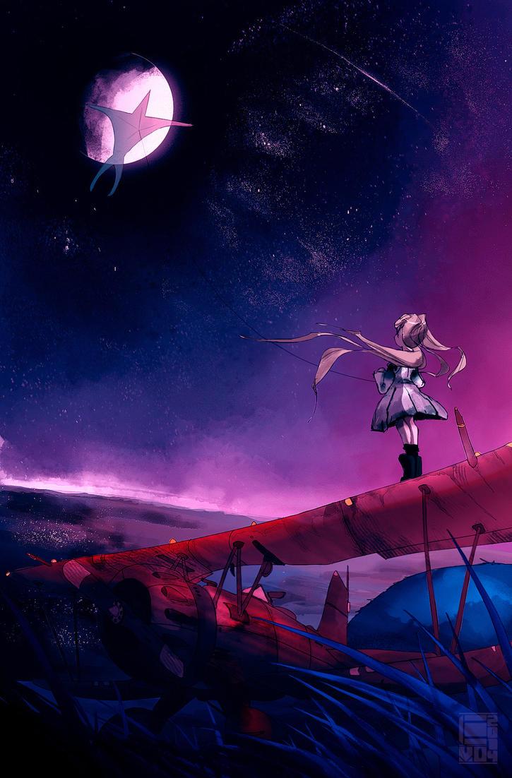 Moonlight Kite by EvoBallistics