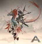 Ark: Survival Evolved - Raptor Rider
