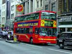 London bus template