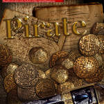 Pirate treasure spanish gold