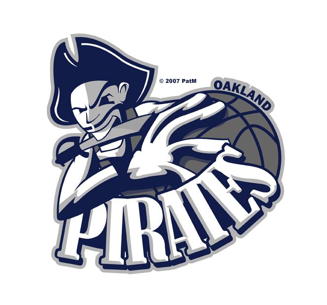 Oakland Pirates logo by rodmen
