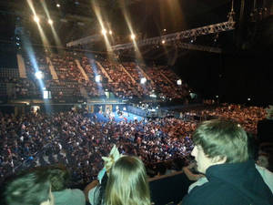 My view of the crowd from LCS EU at Wembley Arena