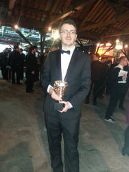 Me and the BAFTA we won!
