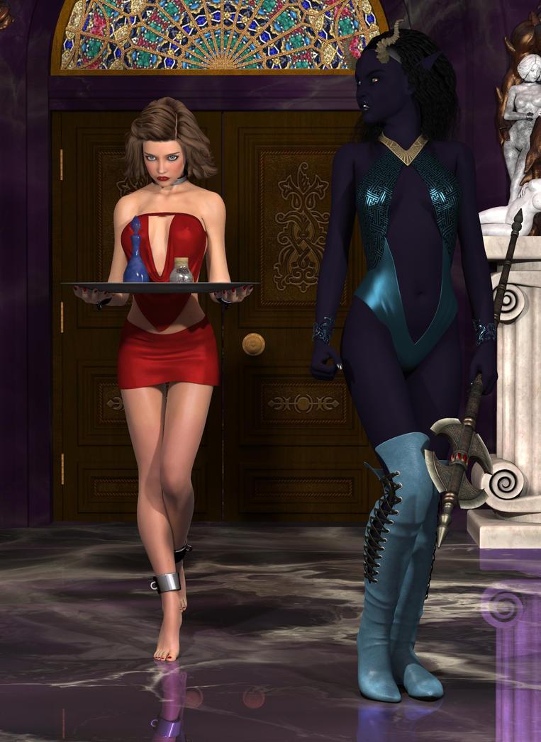 Eshna V2 - 010 with slave Axelle by horpheu