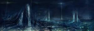 night cities: cold light
