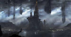 Future city 2 by novaillusion