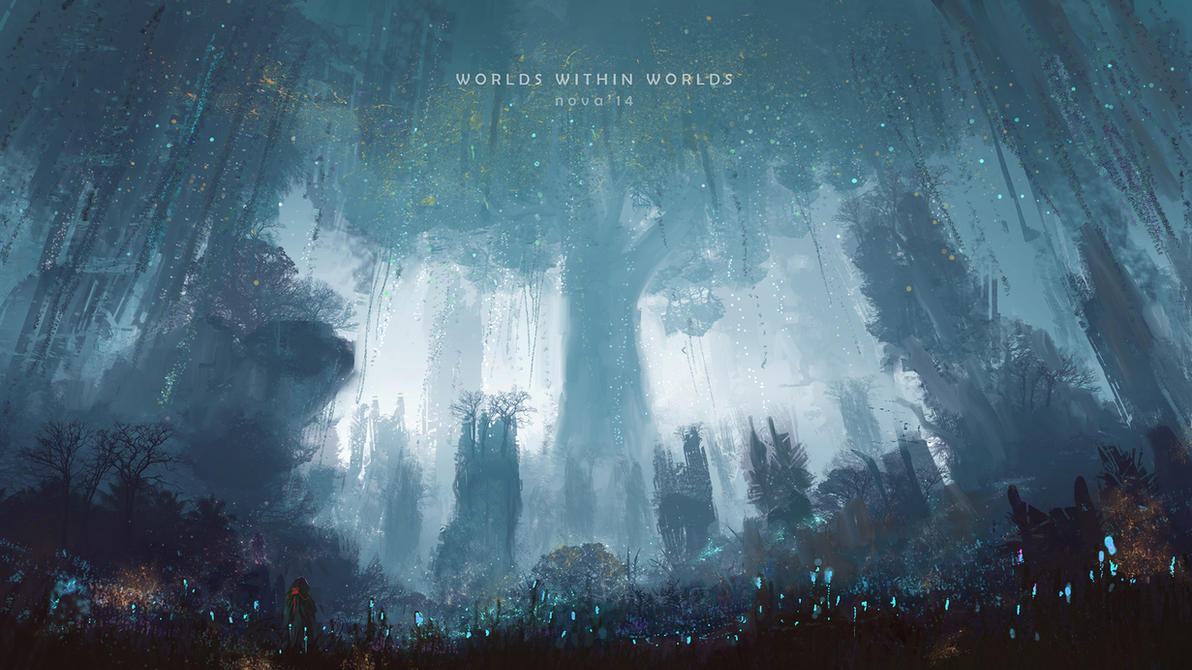 Super Speedpaint - Worlds within worlds II by novaillusion