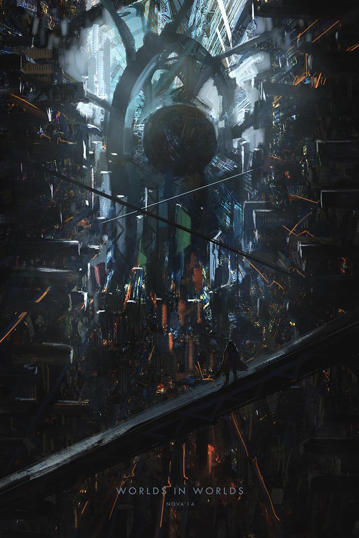 Super Speedpaint - Worlds within worlds by novaillusion