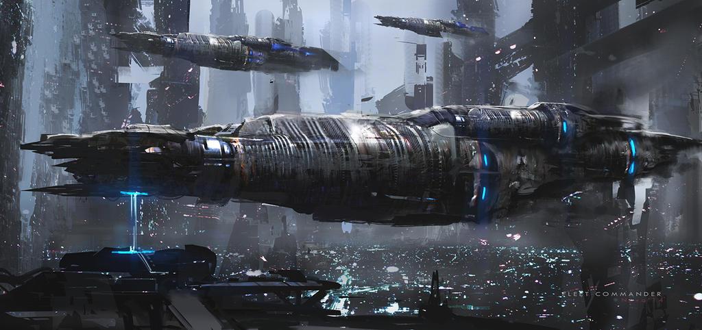 Fleet commander by novaillusion