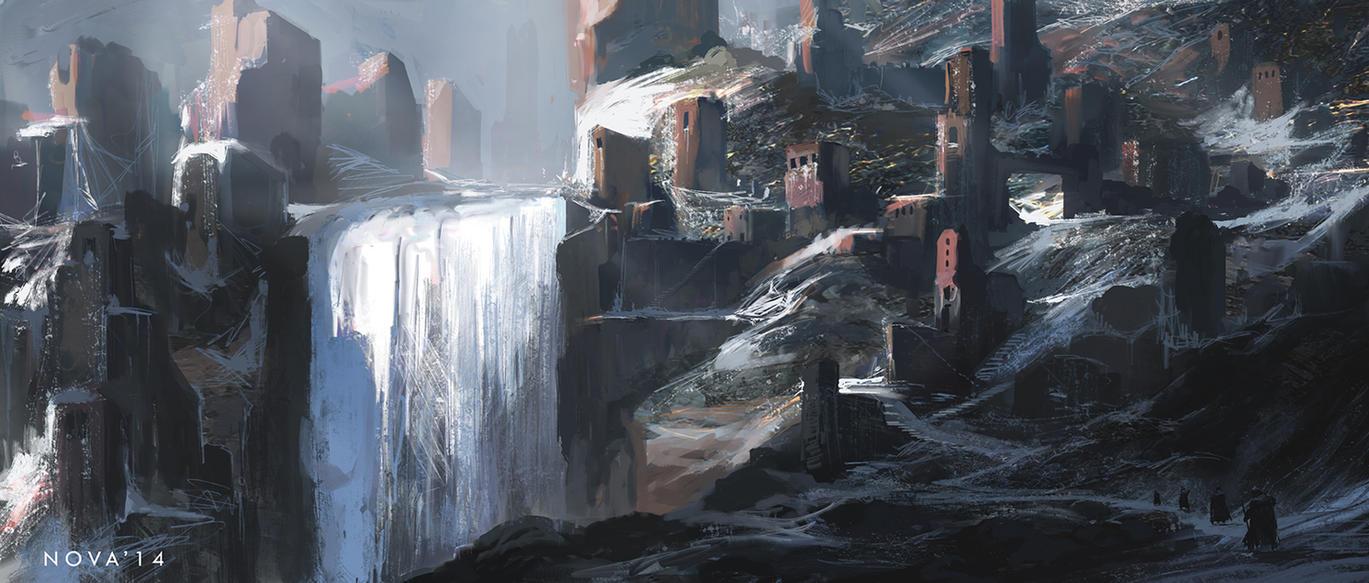 Snow ruin by novaillusion
