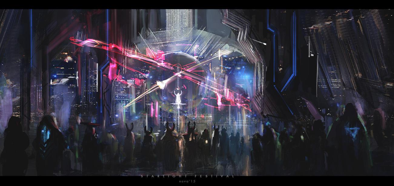 starlight festival by novaillusion