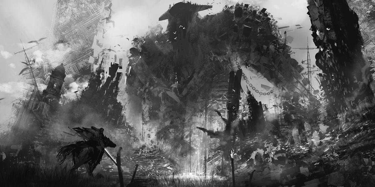 Shadows of the colossus tribute by novaillusion