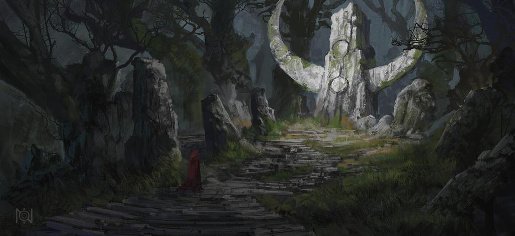 Forest shrine