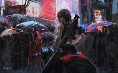 Neo Rain by novaillusion