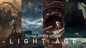 Grand space opera: lightage