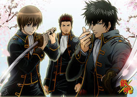 Shinsengumi [Gintama] by CodeMiwa