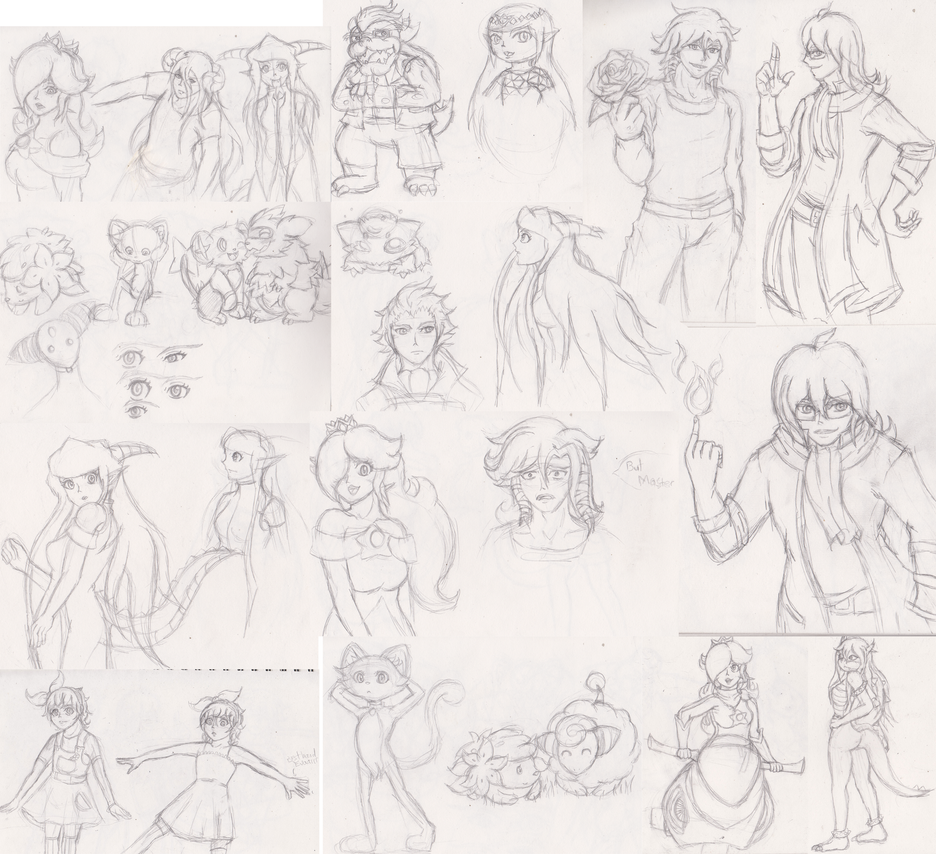 22 October 2014 Sketch dump by Ugh-first-aid
